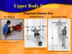 upper body strength