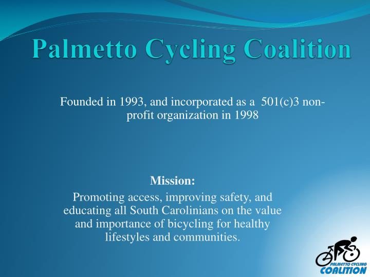 palmetto cycling coalition n.