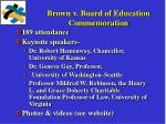 brown v board of education commemoration
