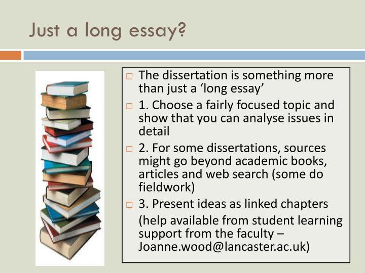 lancaster ppr dissertation