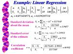 example linear regression1