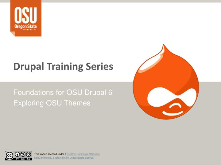 drupal training series n.