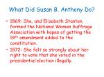 what did susan b anthony do
