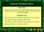 america s emerging culture