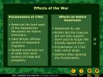 effects of the war1