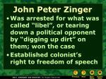 john peter zinger