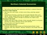 northern colonial economies