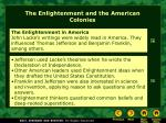 the enlightenment and the american colonies2