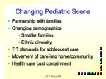changing pediatric scene