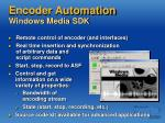 encoder automation windows media sdk