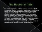 the election of 18361