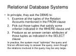 relational database systems7
