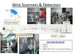 wire scanners detectors