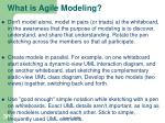 what is agile modeling2