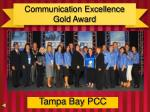 communication excellence gold award