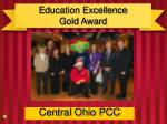 education excellence gold award