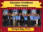 education excellence silver award