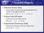 probability models1