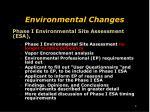 environmental changes1