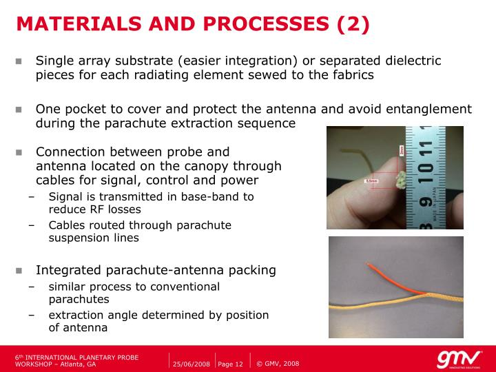 MATERIALS AND PROCESSES (2)