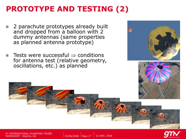 PROTOTYPE AND TESTING (2)
