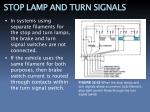 stop lamp and turn signals2