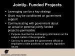 jointly funded projects