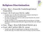 religious discrimination3