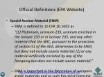 official definitions epa website2