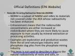 official definitions epa website4