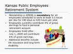 kansas public employees retirement system