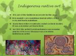 indigenous native art