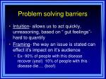 problem solving barriers2
