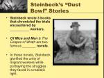 steinbeck s dust bowl stories