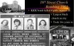 16 th street church bombing 1963