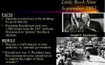 little rock nine september 1957
