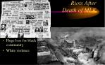 riots after death of mlk