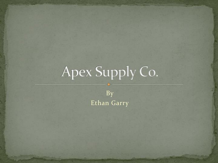 apex supply co n.