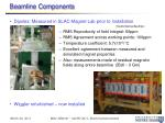 beamline components