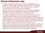 school of business case