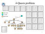 4 queen problem