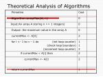 theoretical analysis of algorithms10