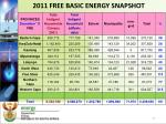 2011 free basic energy snapshot