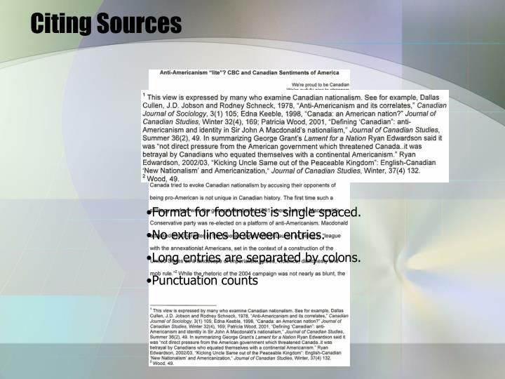 Citing sources1