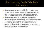 constructing public scholarly curriculum