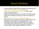 french thinkers