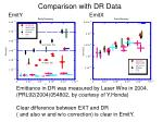comparison with dr data
