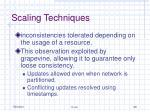 scaling techniques1