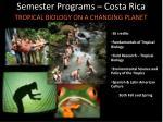 semester programs costa rica