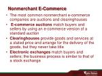 nonmerchant e commerce
